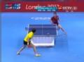 奥运视频-李晓霞直拍正手抽杀 4-2力压美国选手