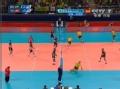 奥运视频-华莱士后攻重扣杀 男排巴西VS突尼斯