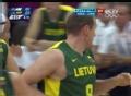 奥运视频-松盖拉转身上篮 男篮阿根廷VS立陶宛