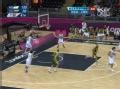 奥运视频-杨库那斯送暴扣 男篮阿根廷vs立陶宛