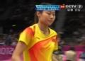 奥运视频-王仪涵开场不利回球落网 女羽单打