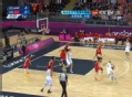 奥运视频-曼迪尔上篮未中 伊万科维奇补投命中