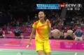 奥运视频-王仪涵绝对优势胜第一局 女羽单打