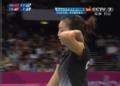 奥运视频-李文姗扣杀挂网 羽毛球女单小组赛