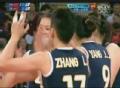 奥运视频-珺菁张磊拦网得分 女排中国VS土耳其