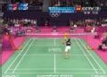 奥运视频-李文姗回球出底线 羽毛球女单小组赛