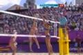 奥运视频-瑞士前排吊球中国防守不足 女子沙排