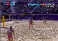 奥运视频-张希大力扣杀得分 沙排中国VS瑞士