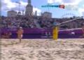 奥运视频-薛晨轻插后排得分 沙排中国VS瑞士