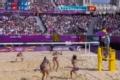 奥运视频-张希果断出击大力扣杀得分 女子沙排