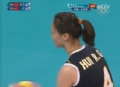 奥运视频-若琪关键时刻发球得分 中国VS土耳其