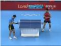 奥运视频-张继科反拍横拉得分 男乒中国VS土耳其