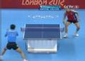 奥运视频-王博横板直抽得分 男乒中国VS土耳其
