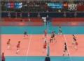 奥运视频-珺菁近体快球得分 女排中国VS土耳其