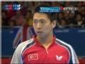奥运视频-王博连续抽杀失误 张继科好运获两分