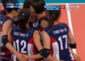 奥运视频-韩松伊扣杀得分 女排塞尔维亚VS韩国
