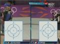 奥运视频-王涛第1枪命中10.6环 10米气步枪决赛