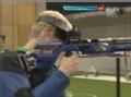 奥运视频-王涛第7枪命中10.8环 10米气步枪决赛