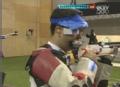 奥运视频-王涛第9枪命中10.0环 10米气步枪决赛