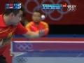 奥运视频-施拉格推斜线王皓出界 乒乓男单第3轮