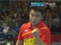 奥运视频-王皓连续反手拉斜线球 乒乓男单第3轮