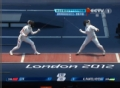 奥运视频-李娜前突完美一剑 重剑女子1/16决赛