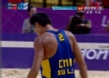 奥运视频-徐林胤垫后排得分 沙排中国VS德国