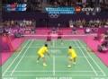奥运视频-马晋网前由守转攻 混双预赛中国VS泰国