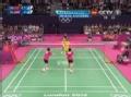 奥运视频-苏卡特网前飞身暴扣 马晋挑高球出界
