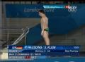 奥运视频-德国运动员空中转体 男子10米台决赛