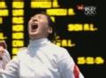 奥运视频-孙玉洁一剑险胜对手 晋级重剑半决赛