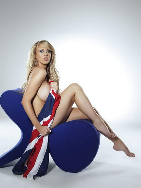 奥运图:外国美女拍热辣写真