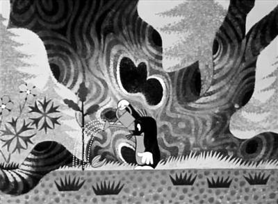 鼹鼠的故事 动画片截图