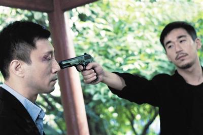 孙红雷 程耳/程耳说这次的孙红雷是继《征服》后演得最好的一次反派角色。