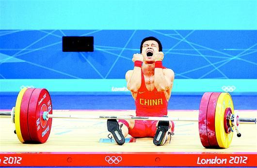 湖北日报讯 图为:朝鲜选手严润哲在比赛中。新华社发