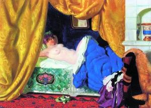 《宫女》被判定不是俄罗斯著名画家库斯妥基耶夫的创作。
