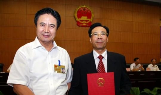 陈志荣任海南省副省长江华安任海南农业厅厅