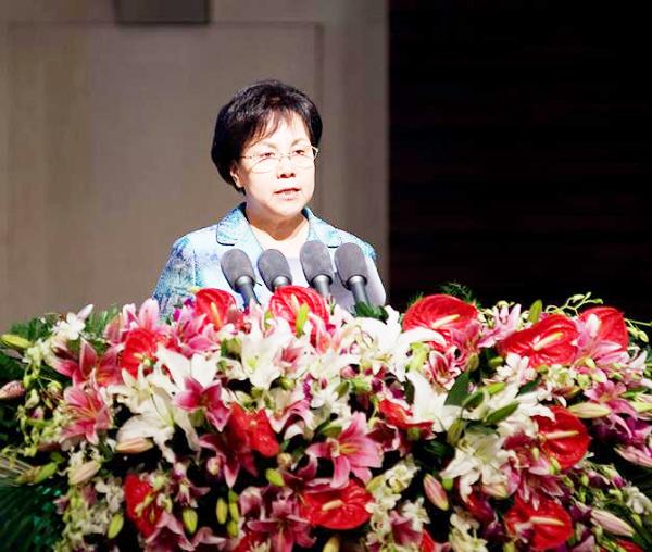 """赵家荣/7月27日,""""2012生态文明贵阳会议""""在贵州省贵阳市举行。"""