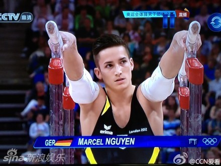 德国体操帅哥Marcel Nguyen