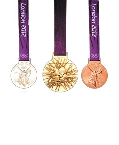 伦敦奥运会奖牌