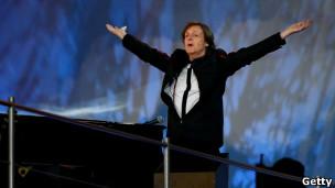 """老""""披头士""""麦卡特尼爵士。BBC英伦网。"""