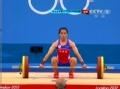 奥运视频-郭幸君抓举102kg失败 举重女子58kg级