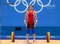 奥运视频-诺维卡娃举106kg失败举重女子58kg级