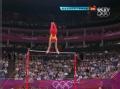 奥运视频-张成龙稳稳落地15.666 体操男团决赛