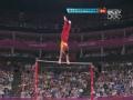 奥运视频-邹凯单杠展实力 高难度动作获16.4分