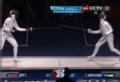 奥运视频-第2轮孙玉洁险胜 女子个人重剑半决赛