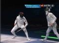奥运视频-孙玉洁一剑之差惜败 女子重剑半决赛