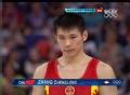 奥运视频-张成龙自由操动作完美 体操男团决赛