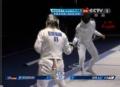 奥运视频-海德曼一分险胜 女子个人重剑半决赛