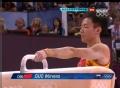 奥运视频-郭伟阳鞍马顶压力完成 体操男团决赛